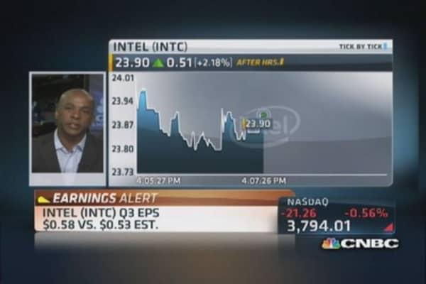 Intel Q3 earnings 'solid'