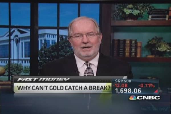 Gold looks weak: Gartman