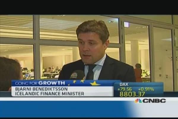 Iceland capital controls signal 'sickness': Fin Min