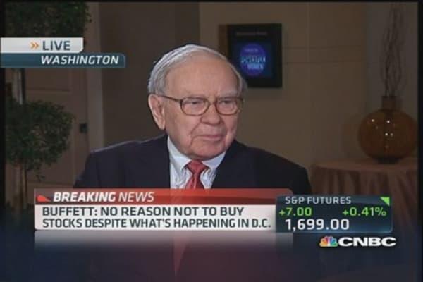 DC's 'political weapon of mass destruction': Buffett