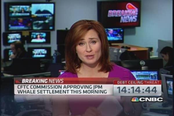 CFTC approving JPM 'Whale' settlement