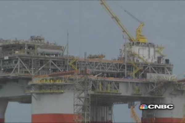 Oil Platform Building Boom