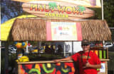 San Diego-based Ron Putman, regional developer for Maui Wowi Hawaiian, a franchise of cart-based smoothies and coffee, has been hit