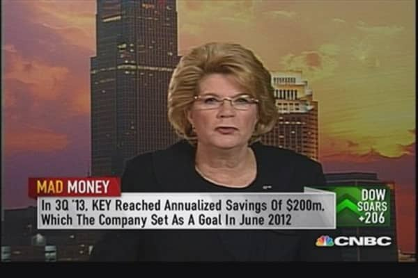 KeyCorp CEO: Taking share & leading our peers
