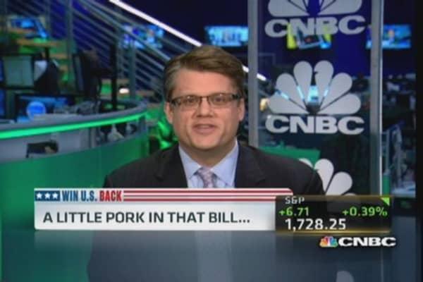 Pork, earmarks & kickbacks