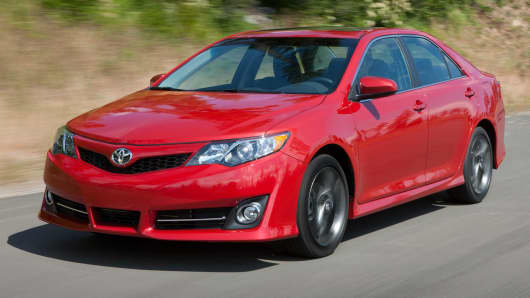 Toyota Camry again like consumer reports.