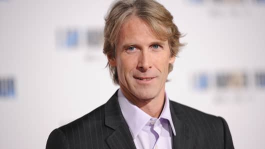 Producer/director Michael Bay