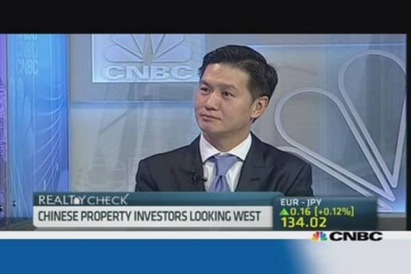 Asian property investors look West