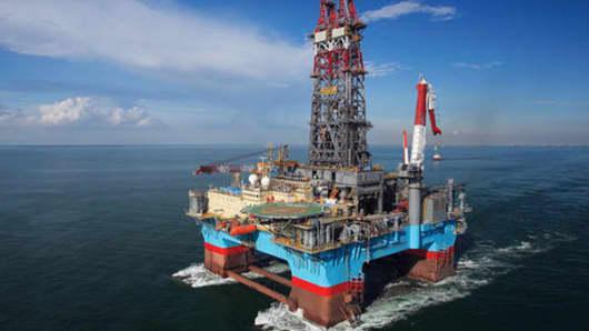 ExxonMobil oil rig