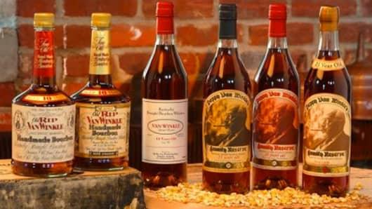 Pappy Van Winkle bourbon.