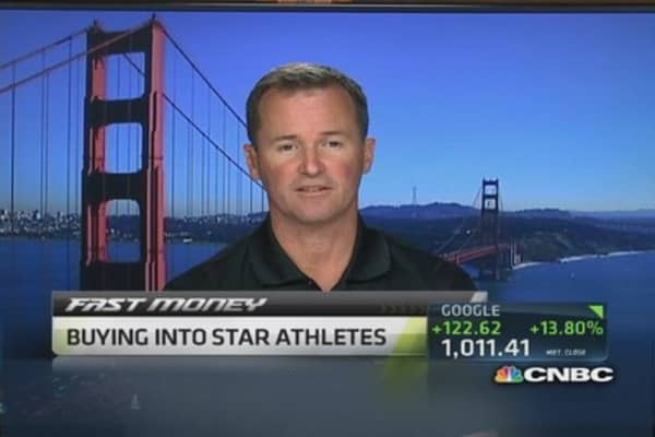Buying into star athletes