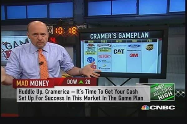 Best earnings season I can recall in years: Cramer