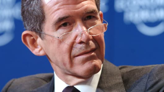 The former CEO of BP, Lord Browne