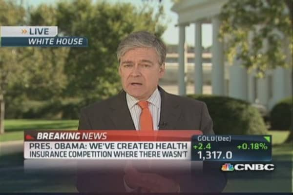 President Obama on Obamacare issues