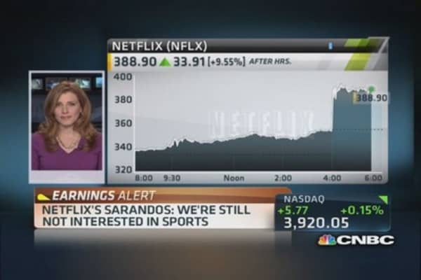 Netflix's Hastings hopes to partner with cable providers