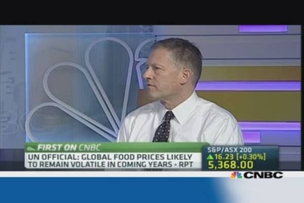 Cargill on food security & price volatility