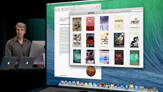 Apple announces Mavericks.