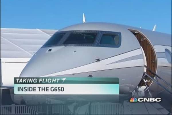 Inside the G650