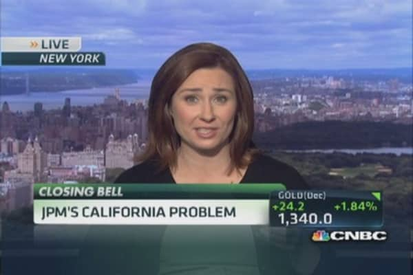 JPM's California problem