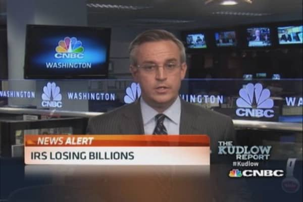 IRS losing billions