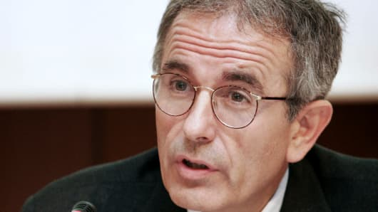Ignazio Angeloni, who heads the European Central Bank's financial stability division