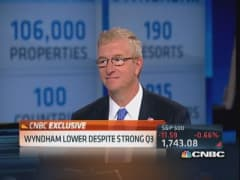 Wyndham CEO on 'spectacular quarter'