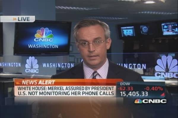 White House denies spying on Merkel