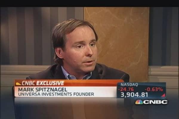 Spitznagel: Market is set up for huge crash