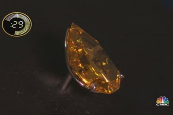 'The Orange' Mega-Diamond