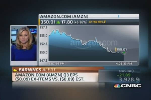 Amazon reports Q3 earnings