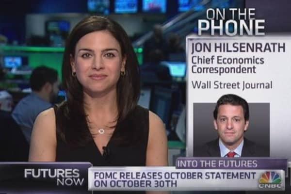 Jon Hilsenrath previews this week's Fed meeting