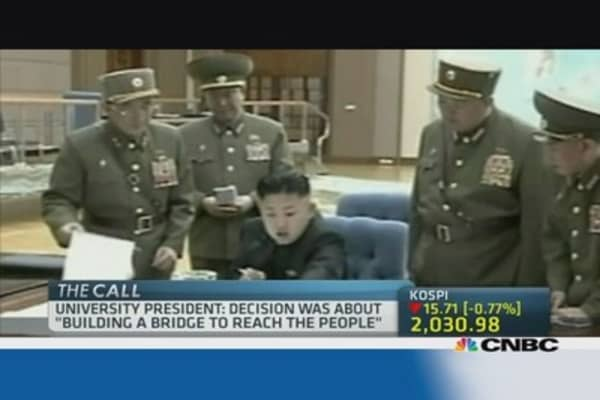 North Korea's Kim Jong-un receives doctorate