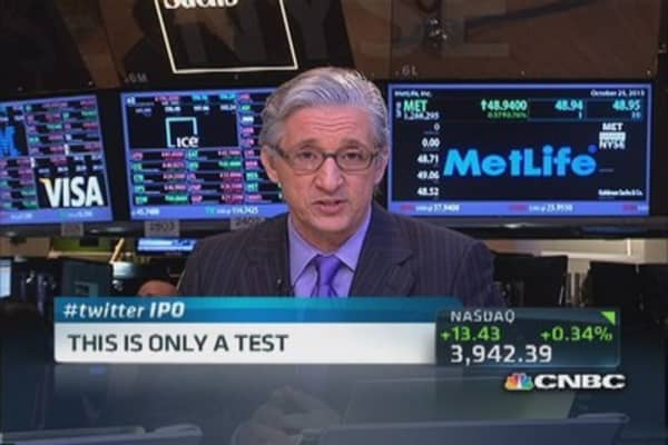 NYSE to run Twitter test