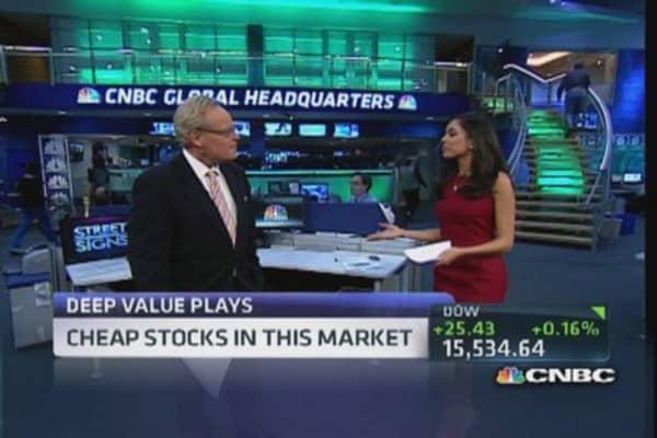 Deep value stock plays
