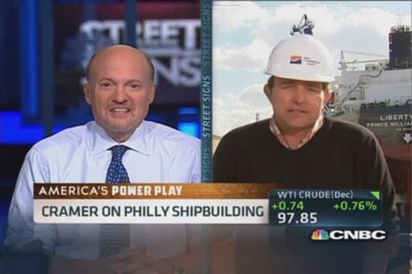 Cramer on Philly's energy boom