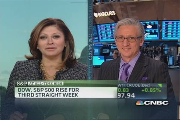 Pisani's market close: Microsoft up 6% on strong earnings