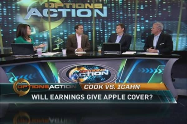 Will Apple earnings give Cook cover from Carl?