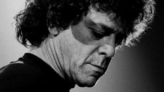 Lou Reed performing live in Rotterdam, the Netherlands, on May 1, 1996