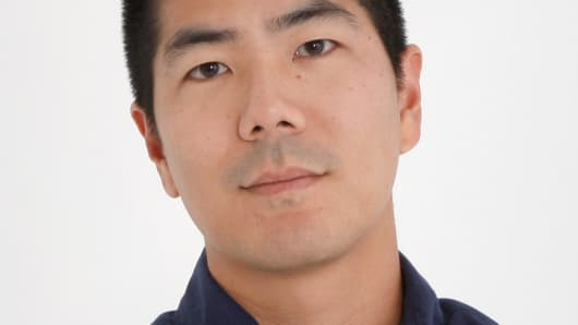 Samuel Ku, creative director of AG Jeans, a California manufacturer of premium jeans