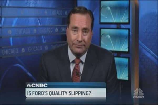 Consumer Reports hits Ford