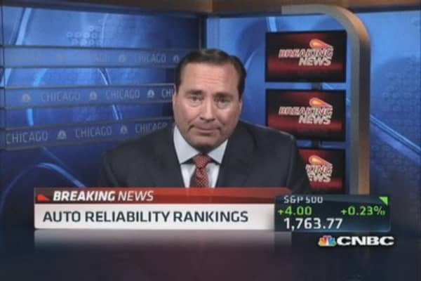 Consumer Reports: Lexus tops in reliability