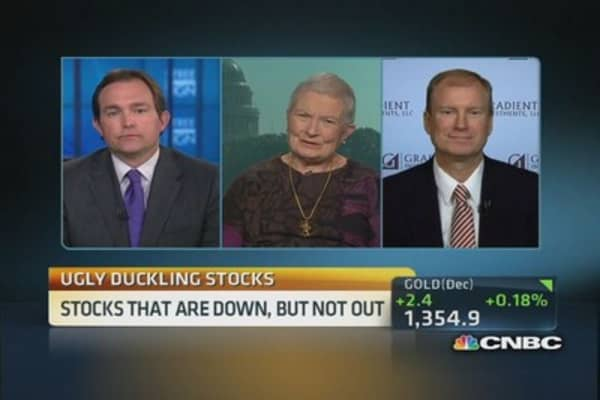 Expert 'ugly duckling' stock picks: JCP, CAT & more