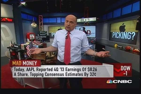 Apple still worth buying: Cramer