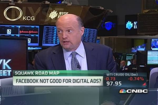 Cramer defends Facebook's digital ads