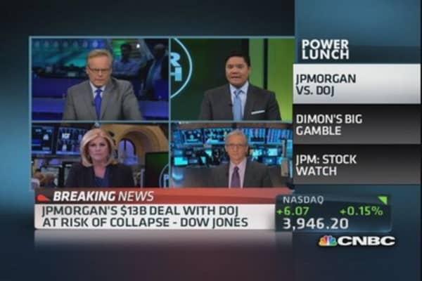JPM vs. DOJ: Dimon's big risk