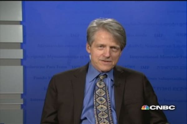 Shiller: Home prices gain, but there's no bubble