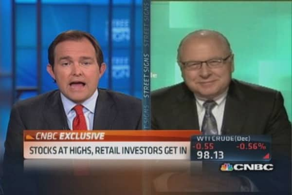 Retail investors are back in the game