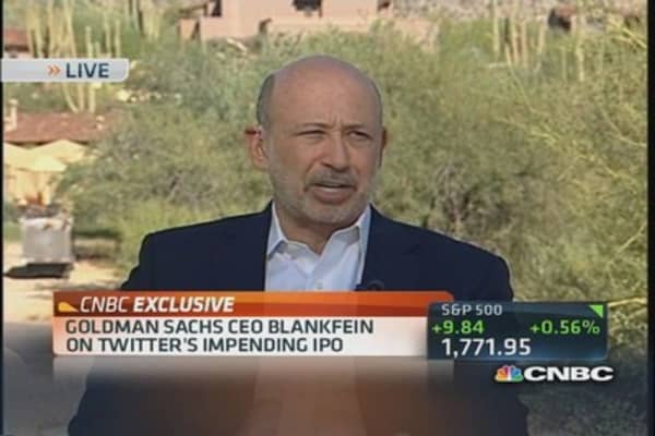 Blankfein: IPOs 'alive & well'