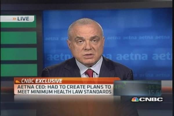 Aetna CEO on why health plans are expensive