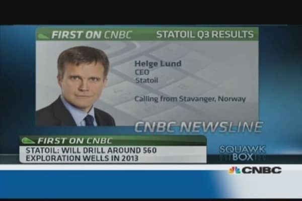 We are not 'volume driven': Statoil CEO
